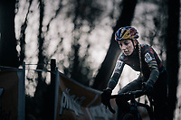 After a long absence from cyclocross, Pauline Ferrand-Prevot (FRA/Canyon-SRAM) is back in the game (and already back on her way to a race win here in Overijse)<br /> <br /> Women's Race<br /> CX Vlaamse Druivencross Overijse 2017