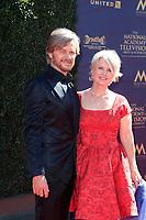 PASADENA - APR 30: Stephen Nichols, Mary Beth Evans at the 44th Daytime Emmy Awards at the Pasadena Civic Center on April 30, 2017 in Pasadena, California