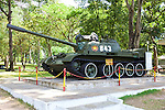Tank That Represents The Tanks That Broke Through The Gates Of The Reunification Palace in 1975