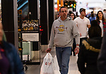 WATERBURY, CT. 22 December 2018-122218 - People shop at the eleventh hour getting their last minute gifts for the Holidays at the Brass Mill Center in Waterbury on Saturday. Bill Shettle Republican-American