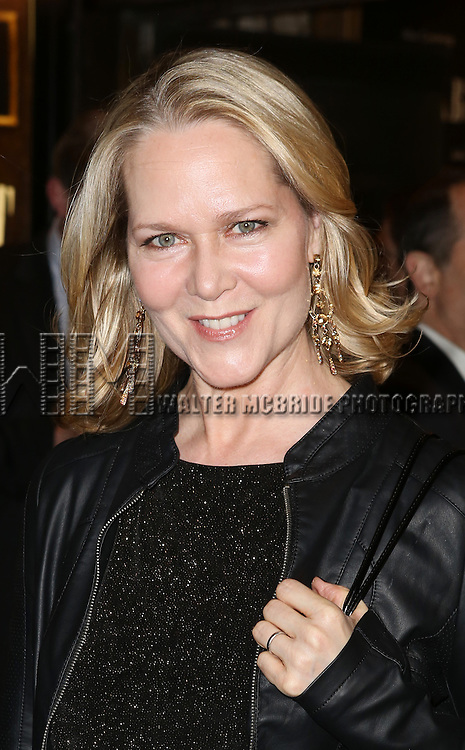 Rebecca Luker attending the Broadway Opening Night Performance of 'Cabaret' at Studio 54 on April 24, 2014 in New York City.