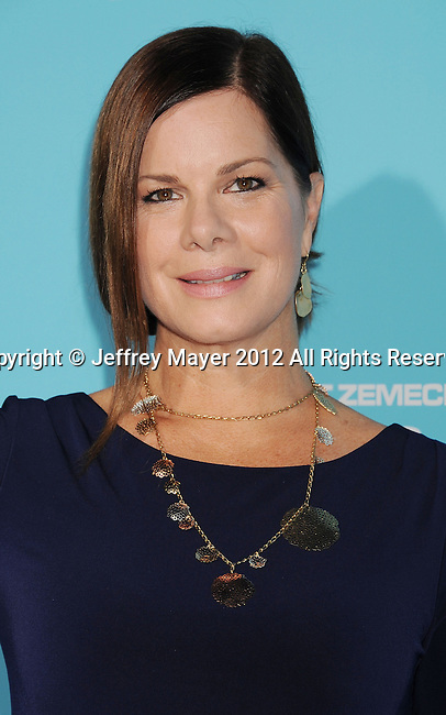HOLLYWOOD, CA - OCTOBER 23: Marcia Gay Harden arrives at the 'Flight' - Los Angeles Premiere at ArcLight Cinemas on October 23, 2012 in Hollywood, California.