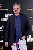 Ramon Aranguena attends to 'Morir para contar' film premiere during the Madrid Premiere Week at Callao City Lights cinema in Madrid, Spain. November 13, 2018. (ALTERPHOTOS/A. Perez Meca) /NortePhoto.com