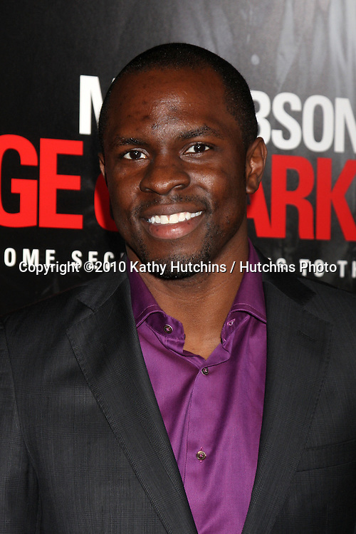 "Gbenga Akinnagbe.arriving at the premiere of the ""Edge of Darkness"".Grauman's Chinese Theater.Los Angeles, CA.January 26, 2010.©2010 Kathy Hutchins / Hutchins Photo...."