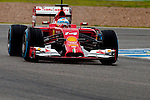 JEREZ. SPAIN. FORMULA 1<br />2013/14 en el Circuito de Jerez 31/01/2014 La imagen muestra a Fernando Alonso de Ferrari LP / Photocall3000