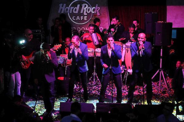 Los Rosario en fiesta de fin de año de Hard Rock Café. FE