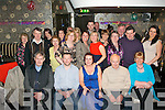 Mags O'Donnell, Inch, Annascaul (seated centre) had a swell time celebrating her 40th birthday last Saturday night in Kirby's Brogue, Tralee along with many friends and family.
