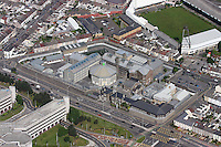 Aerial view of Swansea Prison