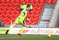 Alex Cairns of Fleetwood Town during the Sky Bet League 1 match between Doncaster Rovers and Fleetwood Town at the Keepmoat Stadium, Doncaster, England on 17 February 2018. Photo by Leila Coker / PRiME Media Images.