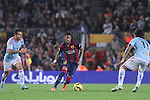 01.11.2014 Barcelona, Spain. La Liga day 10. Picture show Neymar Jr. in action during game between FC Barcelona against Celta de Vigo at Camp Nou