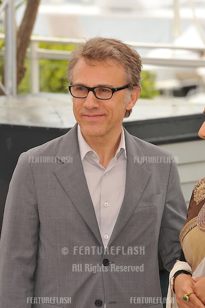Christoph Waltz at the photocall for the Jury of the 66th Festival de Cannes..May 15, 2013  Cannes, France.Picture: Paul Smith / Featureflash