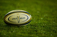 Anglo Welsh Cup Ball<br /> <br /> Photographer Bob Bradford/CameraSport<br /> <br /> Anglo-Welsh Cup Semi Final - Bath Rugby v  Northampton Saints - Friday 9th March 2018 - The Recreation Ground - Bath<br /> <br /> World Copyright &copy; 2018 CameraSport. All rights reserved. 43 Linden Ave. Countesthorpe. Leicester. England. LE8 5PG - Tel: +44 (0) 116 277 4147 - admin@camerasport.com - www.camerasport.com