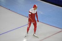 SCHAATSEN: GRONINGEN: Sportcentrum Kardinge, 18-01-2015, KPN NK Sprint, ©foto Martin de Jong