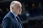 Real Madrid coach Pablo Laso during Turkish Airlines Euroleague match between Real Madrid and Baskonia Vitoria at Wizink Center in Madrid, Spain. January 17, 2018. (ALTERPHOTOS/Borja B.Hojas)
