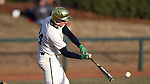 CARY, NC - MARCH 04: Notre Dame's Matt Vierling. The University of Rhode Island Rams played the University of Notre Dame Fighting Irish on March 4, 2017, at USA Baseball NTC Field 3 in Cary, NC in a Division I College Baseball game, and part of the Irish Classic tournament. Notre Dame won the game 8-4.