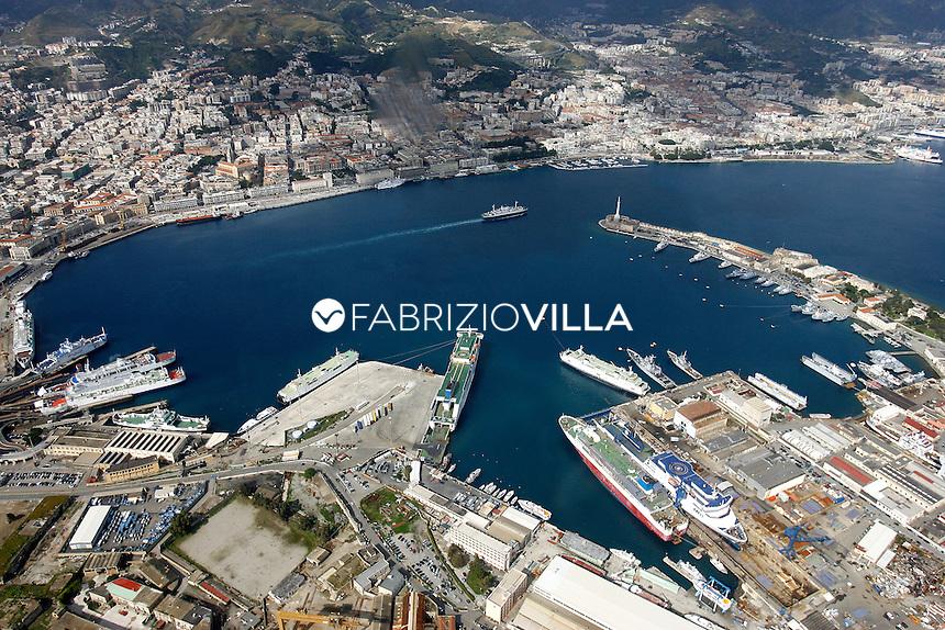 Messina vista dall'alto