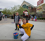 Adam, Benjamin and Zackery during the Easter Egg Hunt at Legends in Sparks, Nevada on Saturday, April 20, 2019.