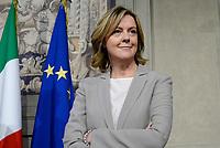 Roma, 12 Aprile 2018<br /> Beatrice Lorenzin<br /> Secondo giro di Consultazioni per la formazione del Governo