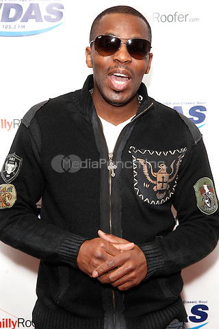 K 'Jon visits WDAS's iHeart Radio Performance Theater in Bala Cynwyd, Pa on April 25, 2012  © Star Shooter / MediaPunchInc