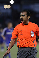 Referee Baldomero Toledo..Columbus Crew defeated Kansas City Wizards 2-0 at Community America Ballpark, Kansas  City, Kansas.