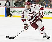 Brayden Jaw (Harvard - 10) - The Harvard University Crimson defeated the visiting Brown University Brown Bears 5-2 (EN) on Saturday, November 7, 2015, at Bright-Landry Center in Boston, Massachusetts.