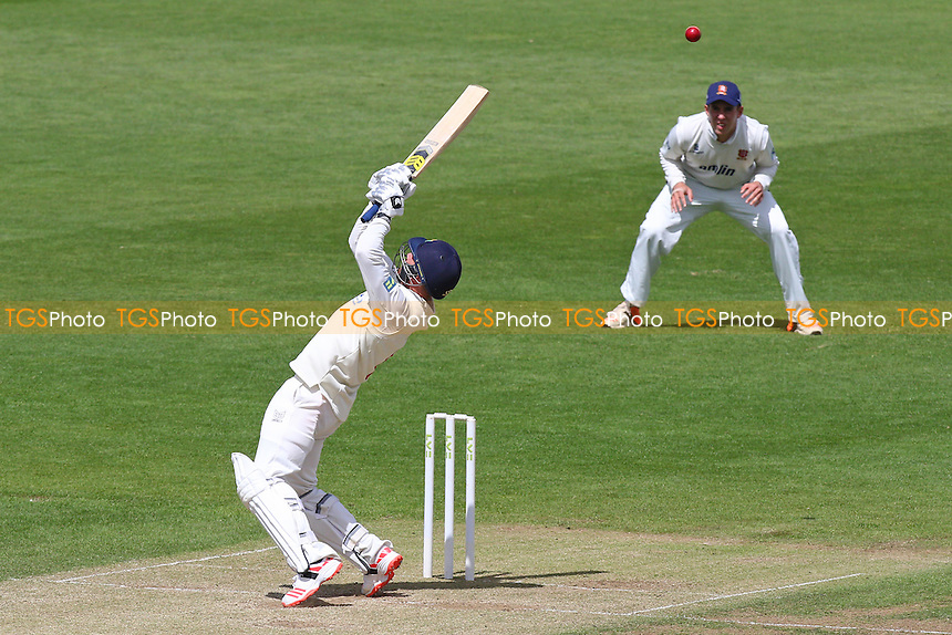 Graham Wagg hits four runs for Glamorgan - Glamorgan CCC vs Essex CCC - LV County Championship Division Two Cricket at the SWALEC Stadium, Sophia Gardens, Cardiff, Wales - 20/05/15 - MANDATORY CREDIT: TGSPHOTO - Self billing applies where appropriate - contact@tgsphoto.co.uk - NO UNPAID USE