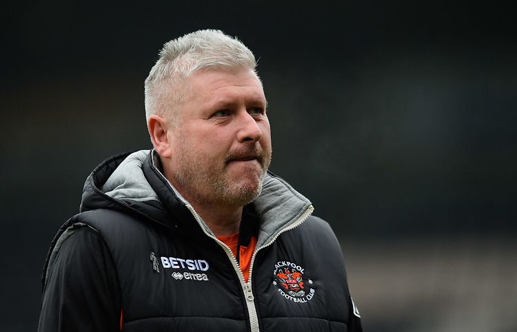 Blackpool's manager Terry McPhillips<br /> <br /> Photographer Chris Vaughan/CameraSport<br /> <br /> The EFL Sky Bet League One - Rochdale v Blackpool - Wednesday 26th December 2018 - Spotland Stadium - Rochdale<br /> <br /> World Copyright © 2018 CameraSport. All rights reserved. 43 Linden Ave. Countesthorpe. Leicester. England. LE8 5PG - Tel: +44 (0) 116 277 4147 - admin@camerasport.com - www.camerasport.com