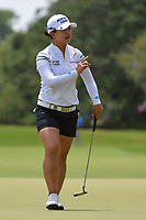 Sei Young Kim (KOR) after sinking her putt on 4 during round 3 of the 2019 US Women's Open, Charleston Country Club, Charleston, South Carolina,  USA. 6/1/2019.<br /> Picture: Golffile | Ken Murray<br /> <br /> All photo usage must carry mandatory copyright credit (© Golffile | Ken Murray)