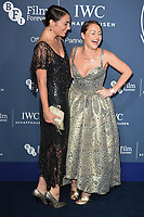 LONDON, UK. October 09, 2018: Lois & Jaime Winstone arriving for the 2018 IWC Schaffhausen Gala Dinner in Honour of the BFI at the Electric Light Station, London.<br /> Picture: Steve Vas/Featureflash