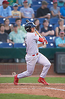 Reading Fightin Phils shortstop KC Serna (5) during a game against the Portland Sea Dogs on May 31, 2016 at Hadlock Field in Portland, Maine.  Reading defeated Portland 6-4.  (Mike Janes/Four Seam Images)