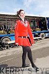 Eibhlis Moriarity, Listowel who danced for the crowd in Listowel on St. Patrick's Day.