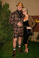 Los Angeles, CA - OCT 10:  Chris Sullivan and Rachel Reichard attend the Los Angeles premiere of HBO series 'Camping' at Paramount Studios on October 610 2018 in Los Angeles, CA. Credit: CraSH/imageSPACE/Me diaPunch