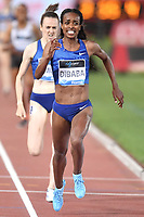 Genzebe Dibaba of Ethiopia competes to win in the women's 1500m at the IAAF Diamond League Golden Gala <br /> Roma 06-06-2019 Stadio Olimpico, <br /> Meeting Atletica Leggera <br /> Photo Andrea Staccioli / Insidefoto