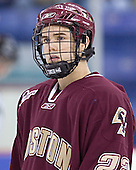 Dan Bertram - The Boston College Eagles defeated the University of Massachusetts-Lowell River Hawks 4-3 in overtime on Saturday, January 28, 2006, at the Paul E. Tsongas Arena in Lowell, Massachusetts.