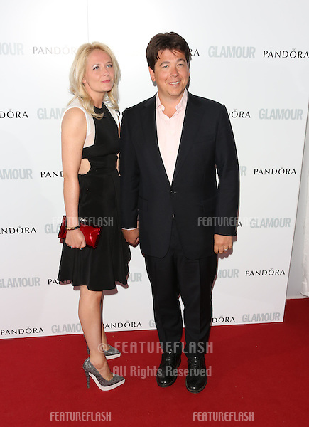 Michael McIntyre, Kitty McIntyre arriving for the 013 Glamour Women of The Year Awards, Berkeley Square, London. Picture by: Henry Harris / Featureflash