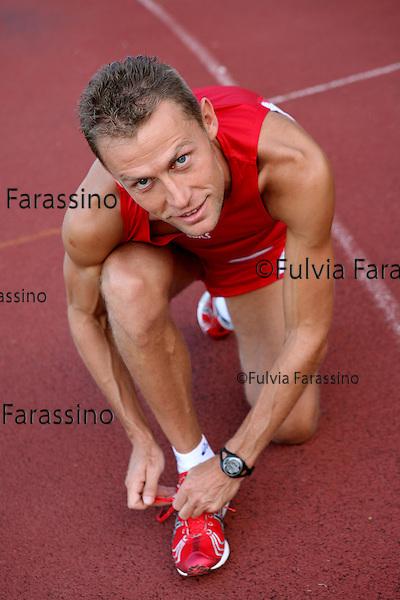 Modena, Stefano Baldini si allena, Stefano Baldini working out