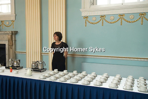 Hercules Clay  Penny Loaf Day. The reception about to start.<br /> <br /> Hercules Clay Penny Loaf Day. Hercules Clay a wealthy cloth merchant who was a former Newark businessman and in 1644 Royalist Mayor of the town during the English Civil War. For three nights in a row he dreampt of his house burning and he took this as an omen, moving out just before the house was indeed damaged by a &ldquo;grenado&rdquo;, a mortar shell fired by the besieging Parliamentary forces.  He died in 1645, and in his Will he left a legacy providing for an annual sermon in which the preacher was to &lsquo;exhort the people not to set their affections on things of this world but by their good works to lay &hellip; hold on eternal life&rsquo;, and for bread to be distributed to the poor.