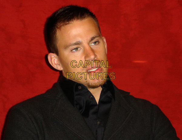 "CHANNING TATUM.Photocall for ""Stop-Loss"", Four Seasons, Wetherly Room, Los Angeles, California..March 16th, 2008     .headshot portrait goatee facial hair .CAP/AW.©Anita Weber/Capital Pictures."