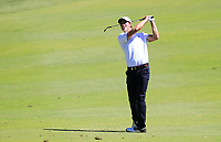 Andrea Pavin (ITA) in action on the 1st during Round 2 Matchplay of the ISPS Handa World Super 6 Perth at Lake Karrinyup Country Club on the Sunday 11th February 2018.<br /> Picture:  Thos Caffrey / www.golffile.ie<br /> <br /> All photo usage must carry mandatory copyright credit (&copy; Golffile   Thos Caffrey)
