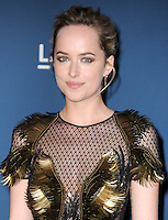 LOS ANGELES, CA - NOVEMBER 02: Dakota Johnson at  LACMA 2013 Art + Film Gala held at LACMA  in Los Angeles, California on November 2nd, 2012 in Los Angeles, CA., USA.<br /> CAP/DVS<br /> &copy;DVS/Capital Pictures