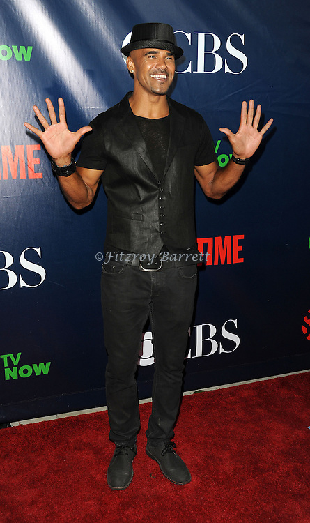 Shemar Moore arriving at the CBS And CW TCA Summer Party 2014 held at The Pacific Design Center Los Angeles, CA. July 17, 2014.