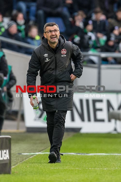 09.02.2019, HDI Arena, Hannover, GER, 1.FBL, Hannover 96 vs 1. FC Nuernberg<br /> <br /> DFL REGULATIONS PROHIBIT ANY USE OF PHOTOGRAPHS AS IMAGE SEQUENCES AND/OR QUASI-VIDEO.<br /> <br /> im Bild / picture shows<br /> Michael K&ouml;llner / Koellner (Trainer 1. FC Nuernberg) in Coachingzone / an Seitenlinie, <br /> <br /> Foto &copy; nordphoto / Ewert