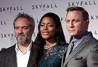 """20121026 ROMA-SPETTACOLI: ANTEPRIMA DEL FILM """"SKYFALL"""", IL NUOVO JAMES BOND"""
