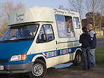 Ice cream van, Suffolk, England