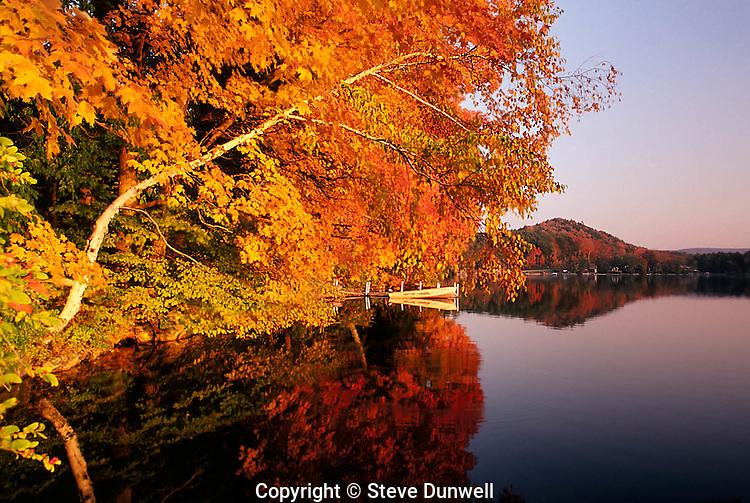 Laurel Lake, Lenox, MA  autumn