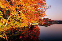 Laurel Lake, Lenox, MA  autumn