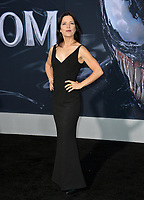LOS ANGELES, CA. October 01, 2018: Melora Walters at the world premiere for &quot;Venom&quot; at the Regency Village Theatre.<br /> Picture: Paul Smith/Featureflash
