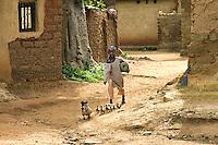 Ducklings. Kajuru, Kaduna State, Nigeria.