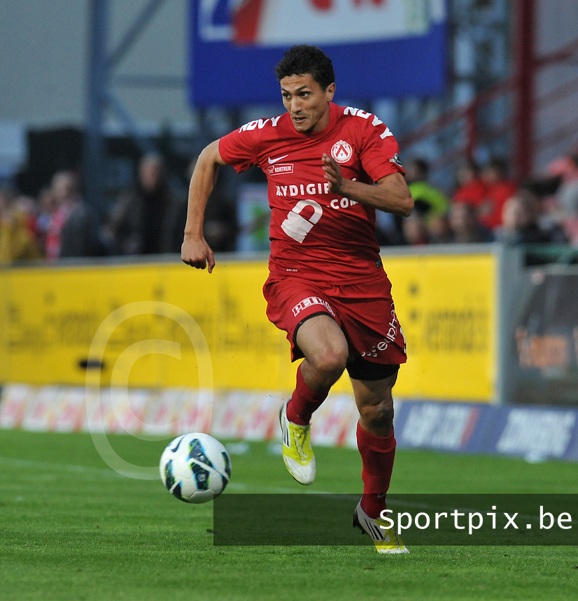 KV Kortrijk - Standard Luik : Mustapha Oussalah.foto VDB / DAVID CATRY
