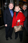 Harvey Evans &amp; Barbara Cook arriving for the Roundabout Theatre Company's Opening Night Production  of  A MAN FOR ALL SEASONS at the American Airlines Theatre in New York City.<br />